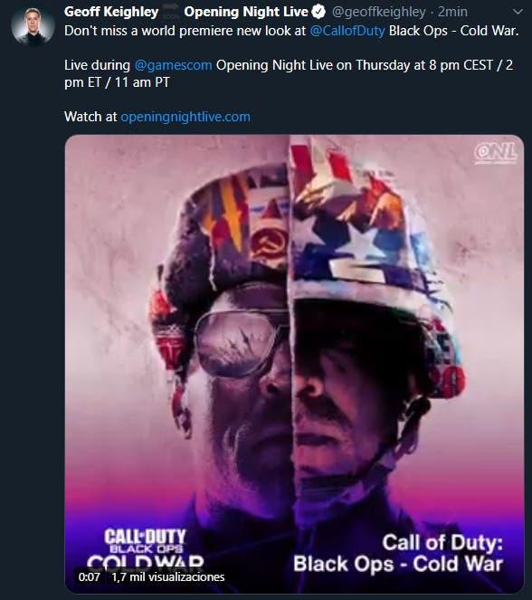 Call of Duty: Black Ops Cold War sera à la gamescom 2020