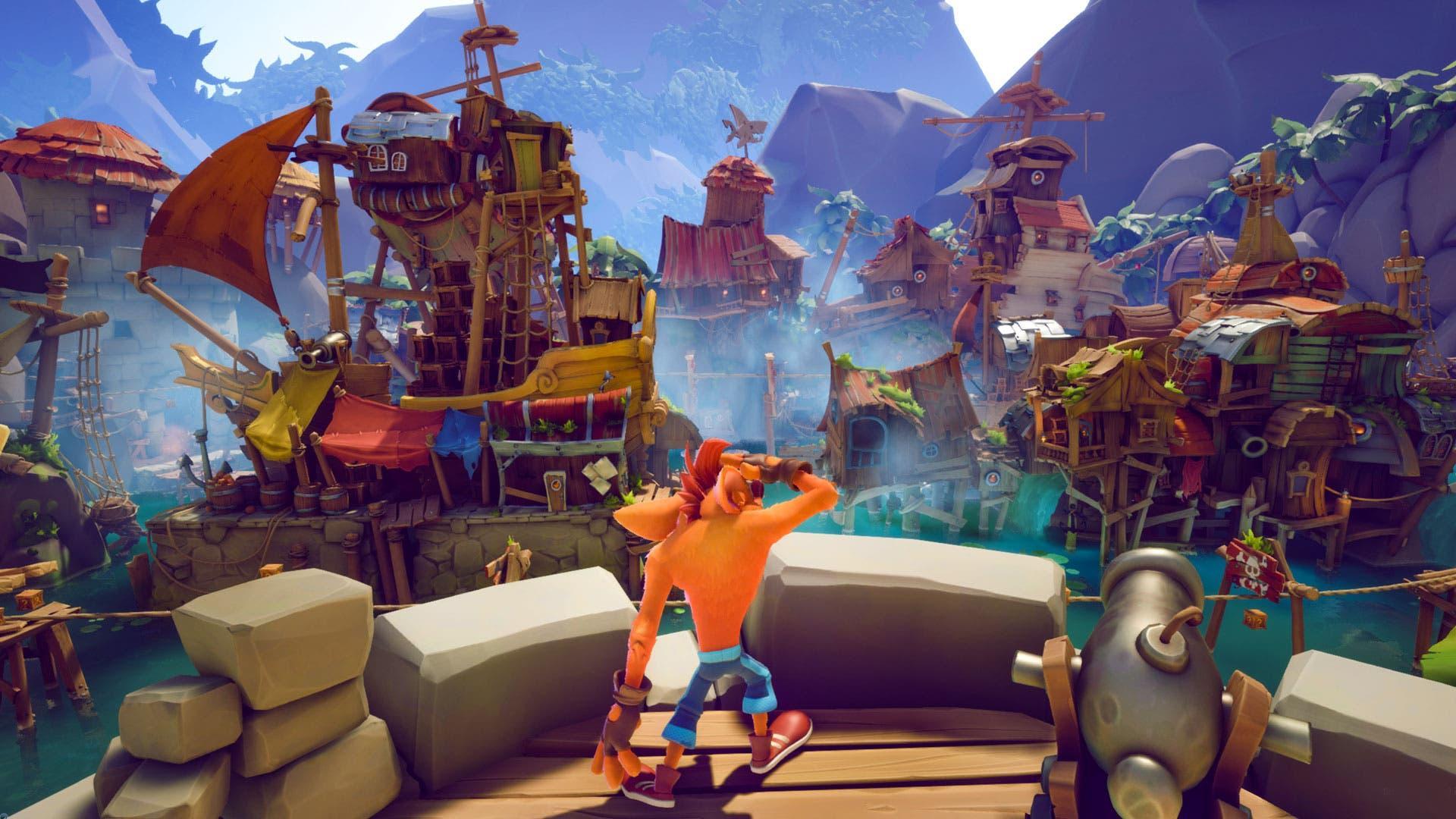 Connaître L'espace De Stockage Qu'occupera Crash Bandicoot 4: It's About