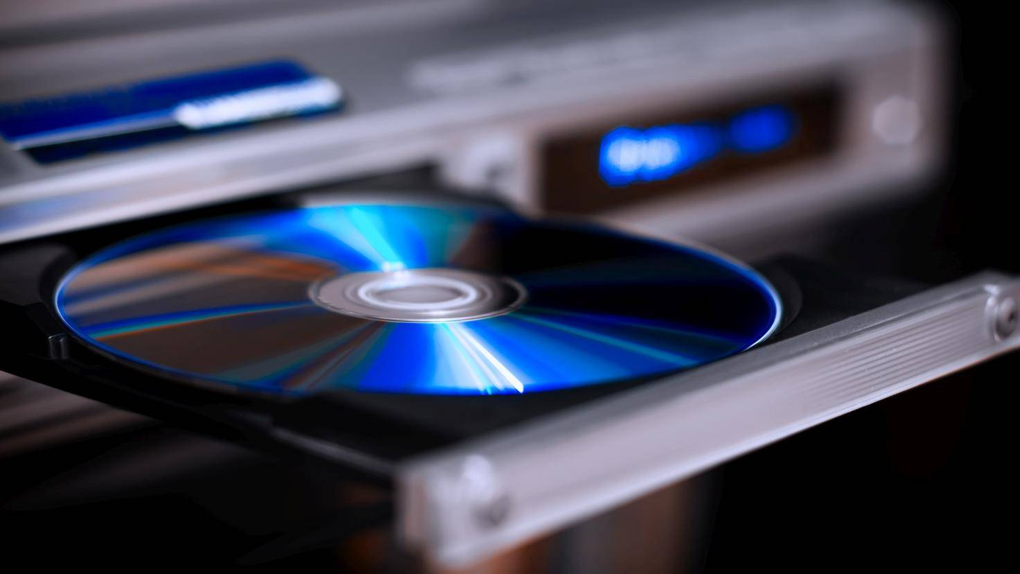 DVD dans le lecteur