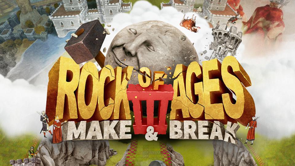 Logo Make & Break de Rock of Ages 3