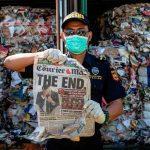 Des Criminels Profitant Des Déchets Plastiques, Ajoutant à La Pollution