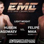 Emc 5: Husein Kadimagomaev Contre Felipe Da Silva Maia