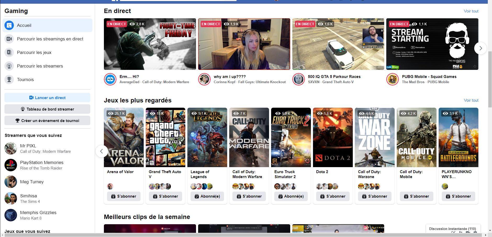 Fb Gaming
