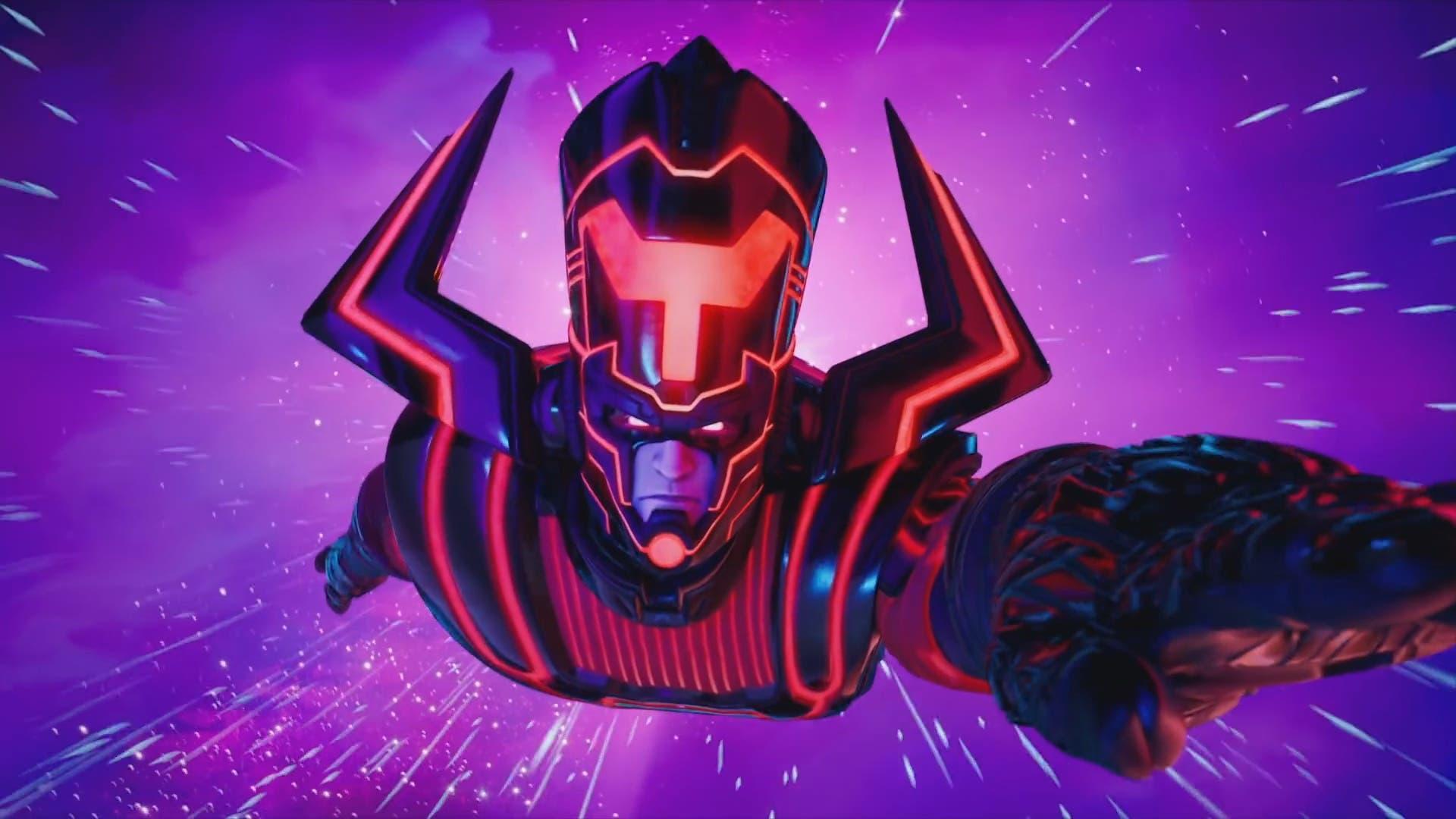 Fortnite: Galactus Se Rapproche De Plus En Plus De L'île