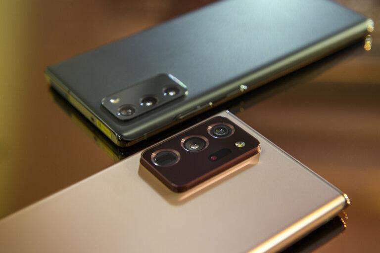Galaxy Note 20: Samsung Installe Différents Systèmes De Refroidissement