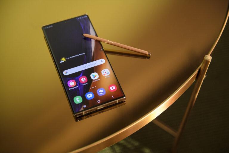 Galaxy Note 20 Ultra: Le Verre Victus De Corning Fait