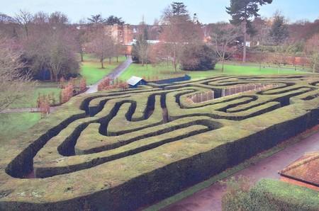 Labyrinthe de Hampton Court