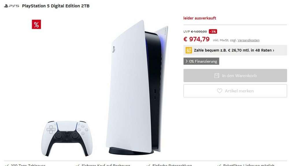Le prix absurdement élevé d'un magasin PS5 à