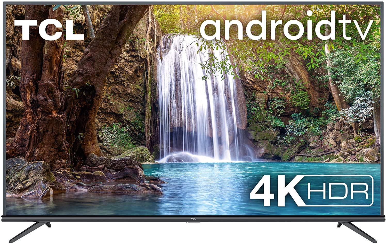 Téléviseur DEL de 50 po - TCL 50EP660 Titanium, UHD 4K, HDR PRO, panneau 10 bits, Dolby Audio, Android TV
