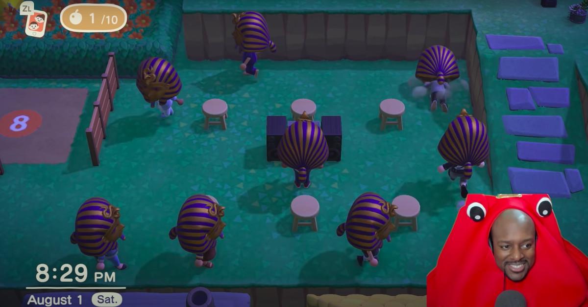 Les Fans D'animal Crossing Jouent Aux Mini Jeux De King Tut