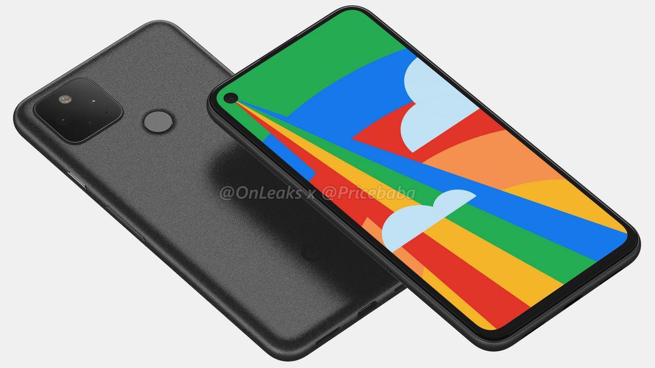Les Rendus De Fuite De Google Pixel 5 Révèlent Une
