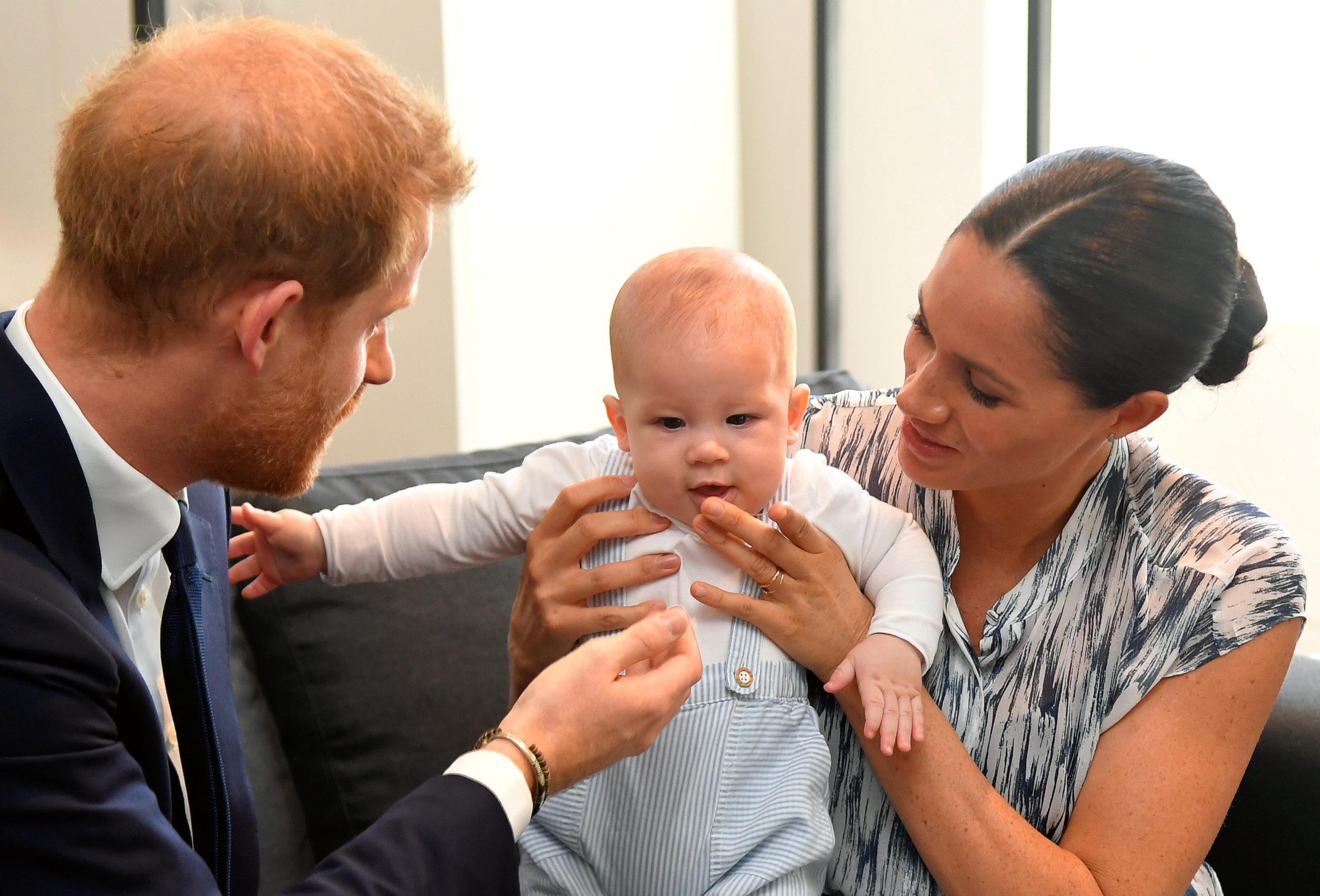 Meghan Markle Dit Que Le Prince Harry Est Un Père