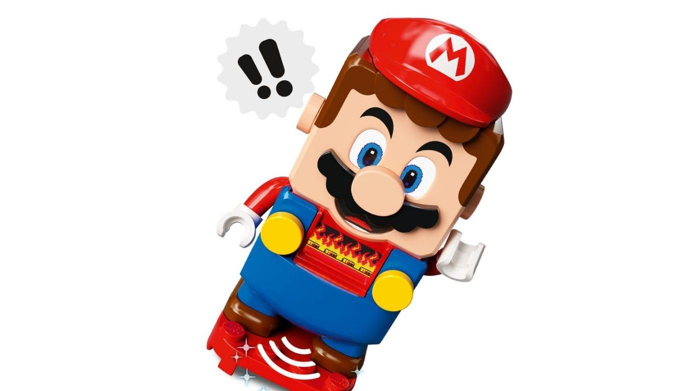 Nintendo Fait Tomber Lego Mario 6000 Fois Pour Déterminer Sa