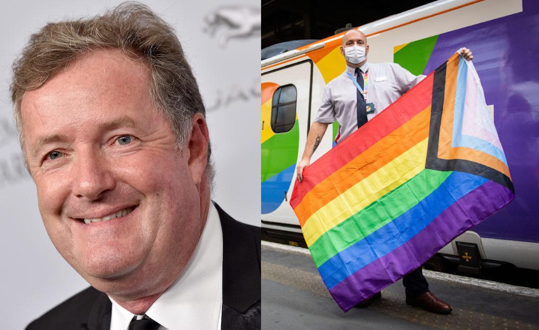 Piers Morgan Est Sérieusement Contrarié Par Le Train De La