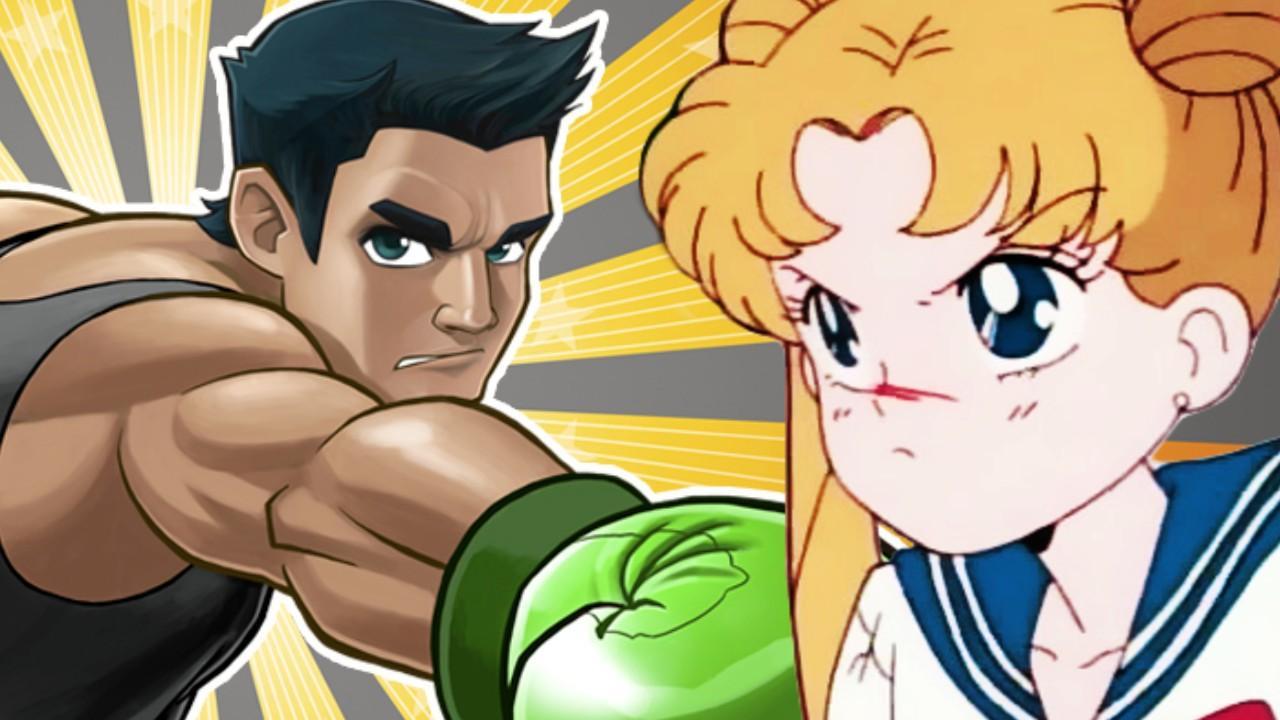 Sailor Moon Est Apparu Dans Punch Out !! Wii Et