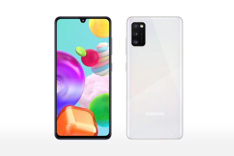 Samsung Galaxy A42 Fuite Montre: La 5g Pose Des