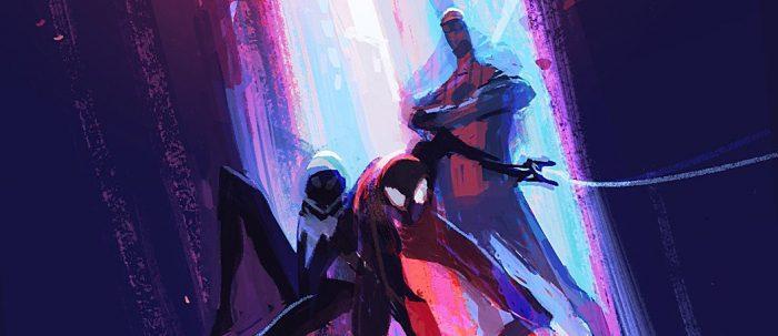 Spider-Man: dans le Spider-Verse Alternate Steelbook Art