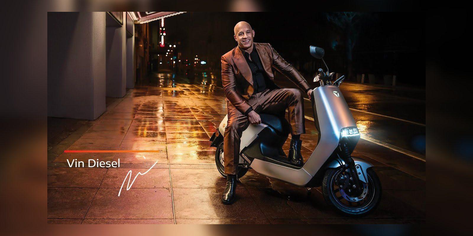Vin Diesel, accélère le Yadea G5 électrique