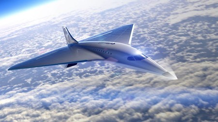 Avion Virgin Galactic Mach 3