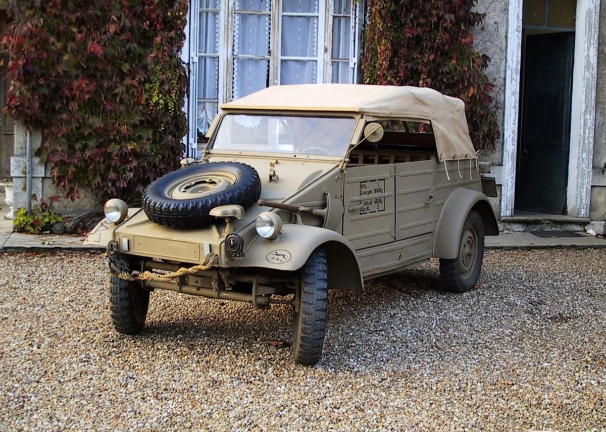Le célèbre Kübelwagen