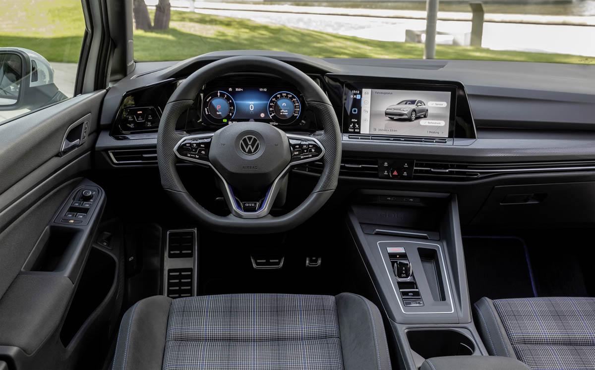 L'intérieur bénéficie du fort engagement de VW en faveur de la numérisation, avec tous les appareils les plus avancés