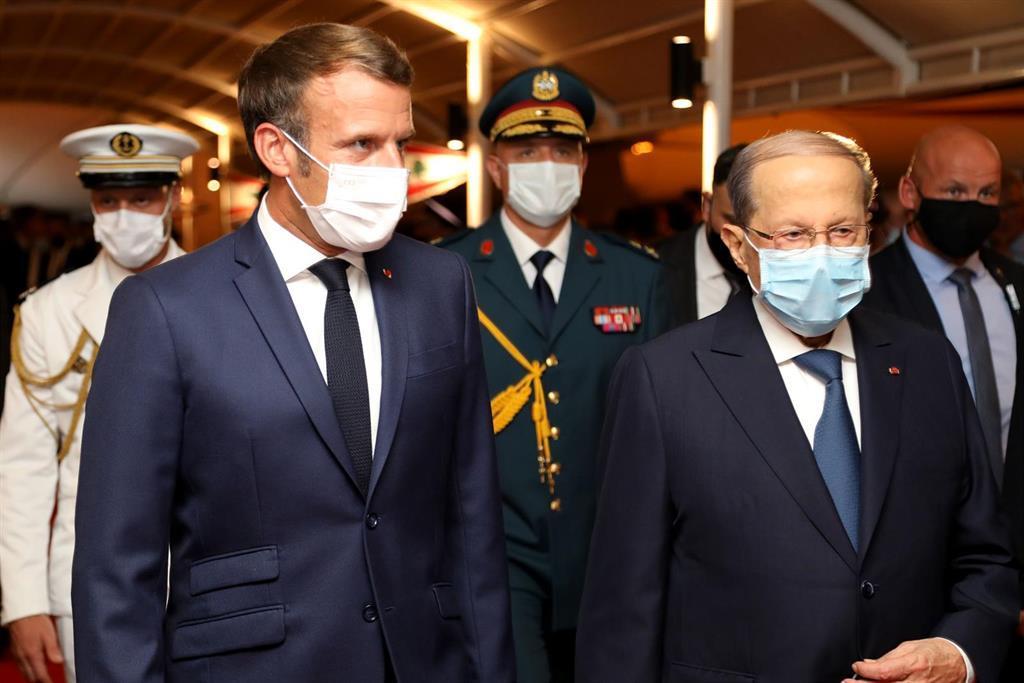 """Macron Assure Que La France """"sera Toujours Du Côté Du"""