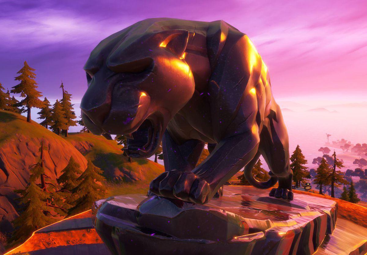 Emplacement 'panther's Prowl': Où Trouver Le Nouveau Poi Black Panther