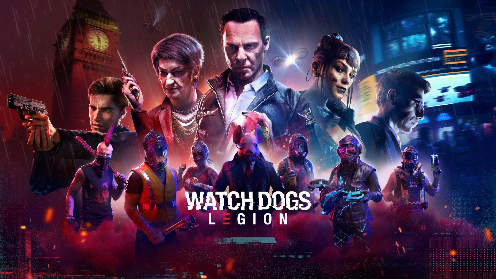 Brutal New Watch Dogs: Remorque De La Légion Portant Le