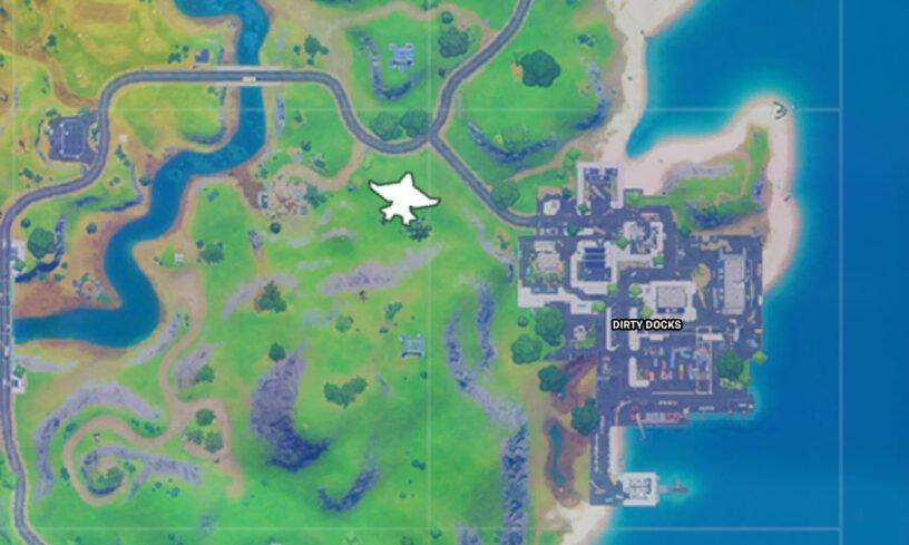 Exemple de carte de localisation Quinjet