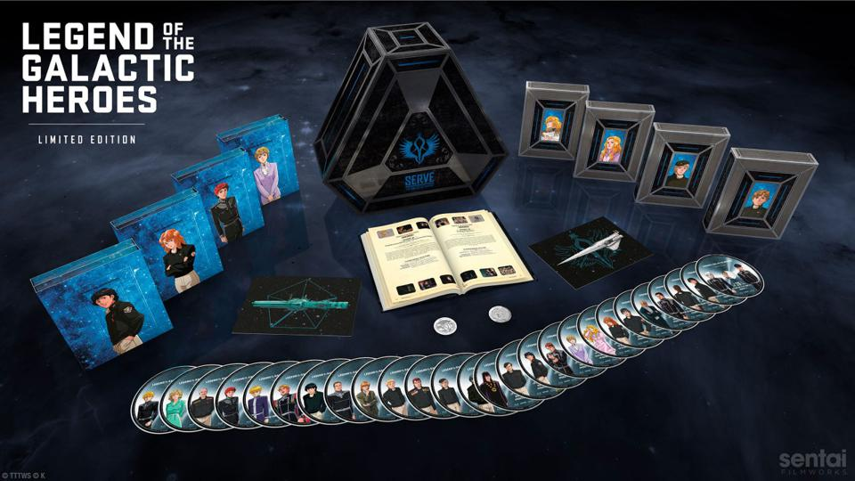 Coffret Blu-ray Legend of the Galactic Heroes