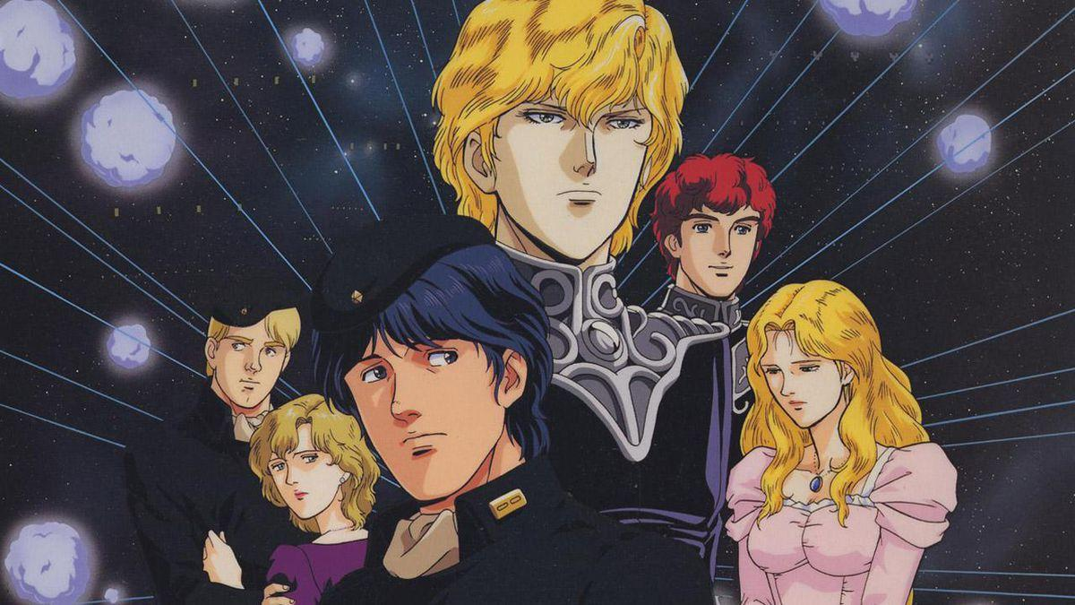 Critique Du Coffret Blu Ray `` Legend Of The Galactic Heroes