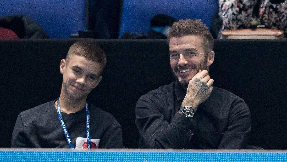 David Et Victoria Sont Nostalgiques: Romeo Beckham Reçoit De Jolies