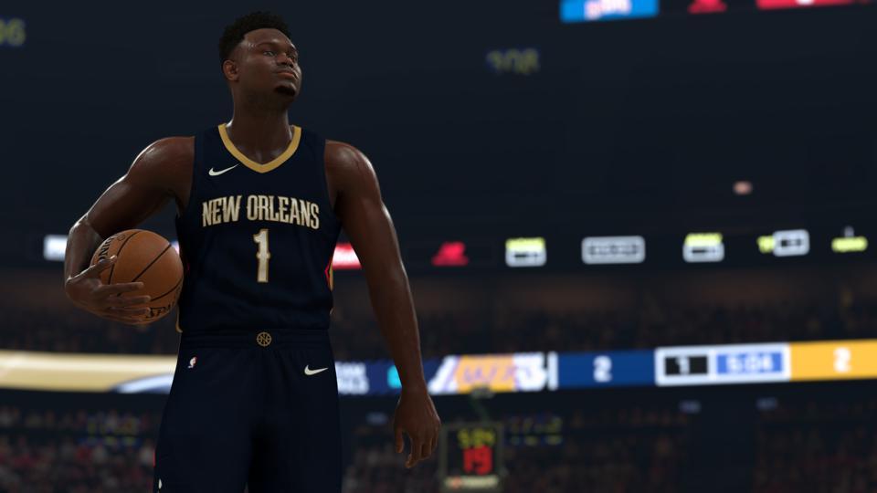 NBA 2K21 sur la génération actuelle
