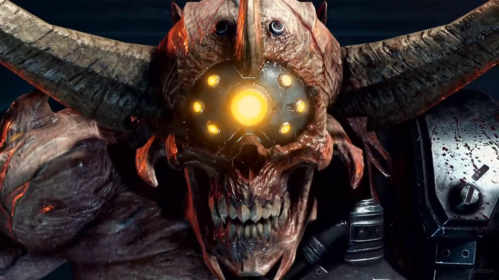 Premier Gameplay De Doom Eternal Fonctionnant Sur Un Rtx 3080