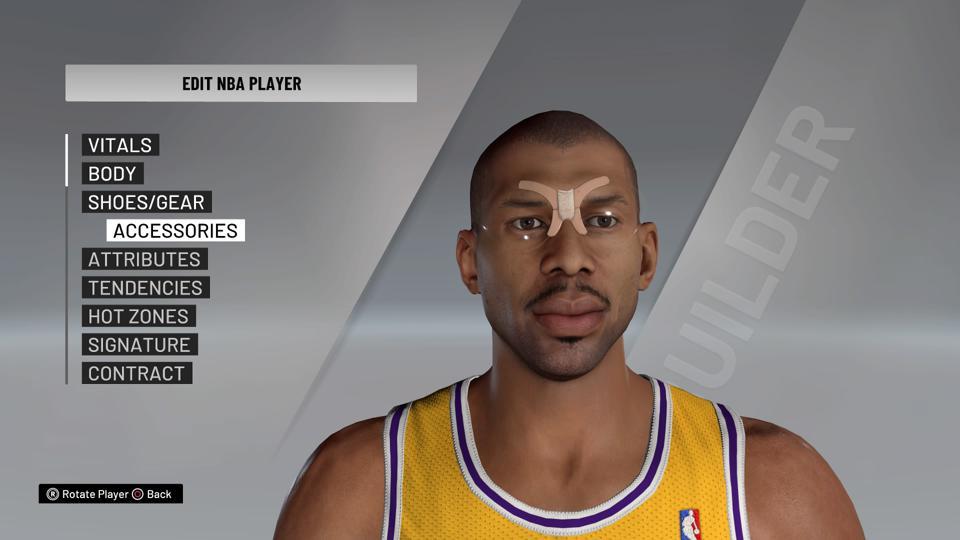 NBA 2K21 Kareem Abdul Jabbar