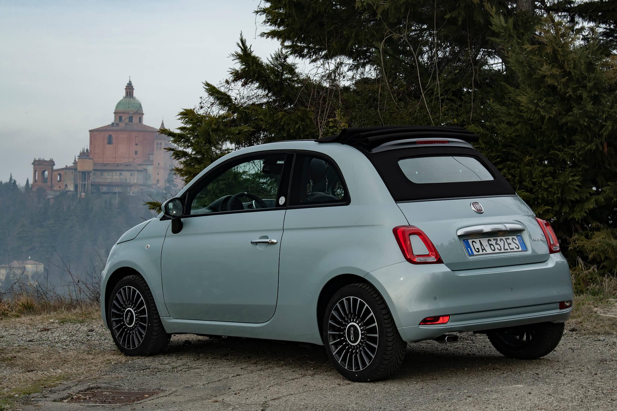 Fiat 500C hybride