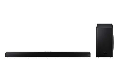 Barre de son SAMSUNG HW-Q60T - Son 360 W, 5.1 canaux, caisson de basses sans fil, Dolby Digital 5.1, technologie DTS Virtual: X, Q-Symphony et Acoustic Beam