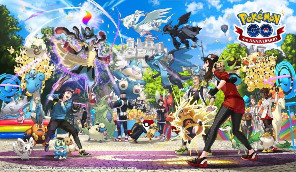 Pokémon GO quatrième anniversaire