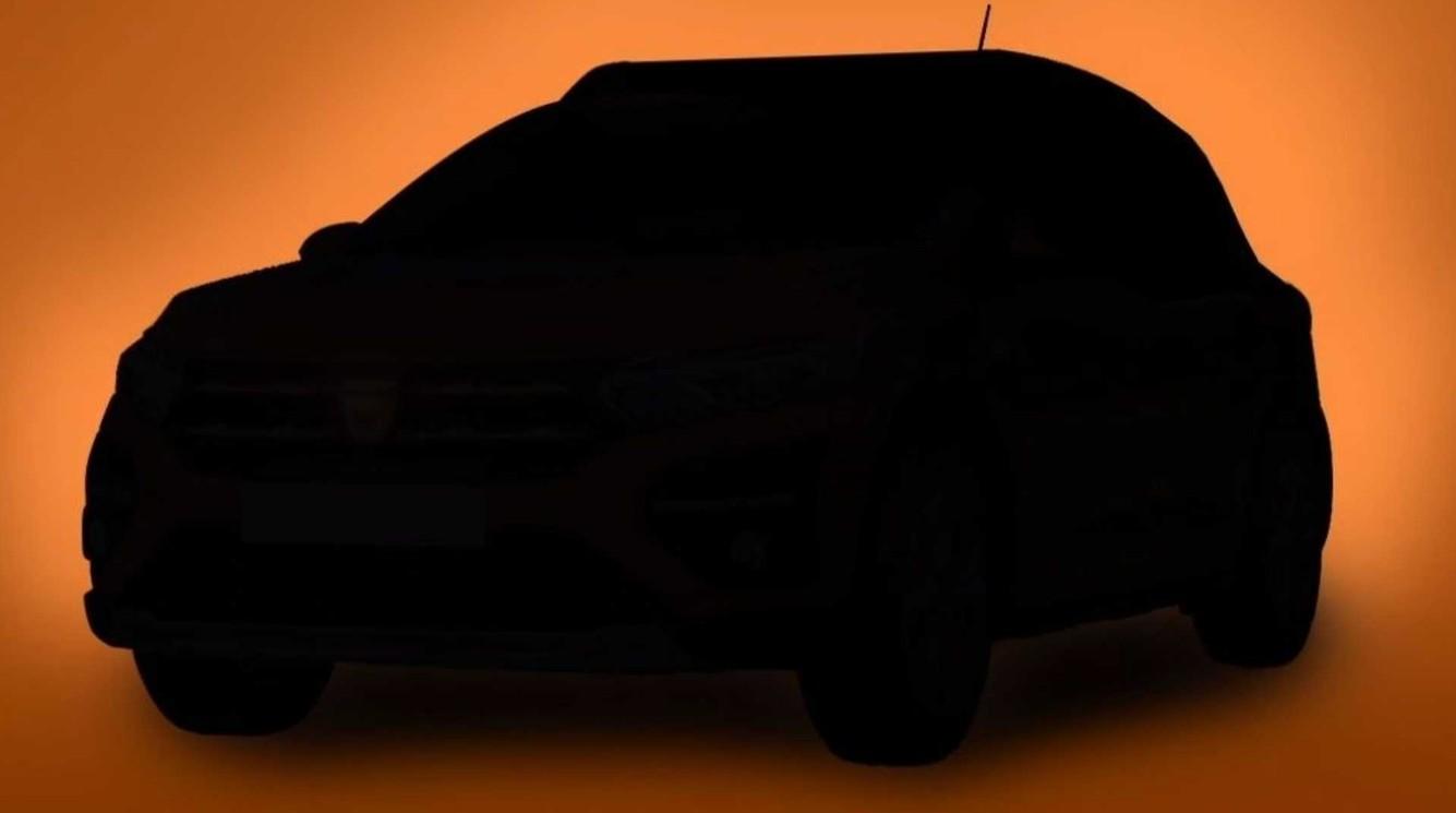 Le teaser de Dacia Sandero