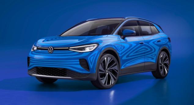 Présentation Le 23 Septembre. Volkswagen Montre L'intérieur Du Crossover Id.4