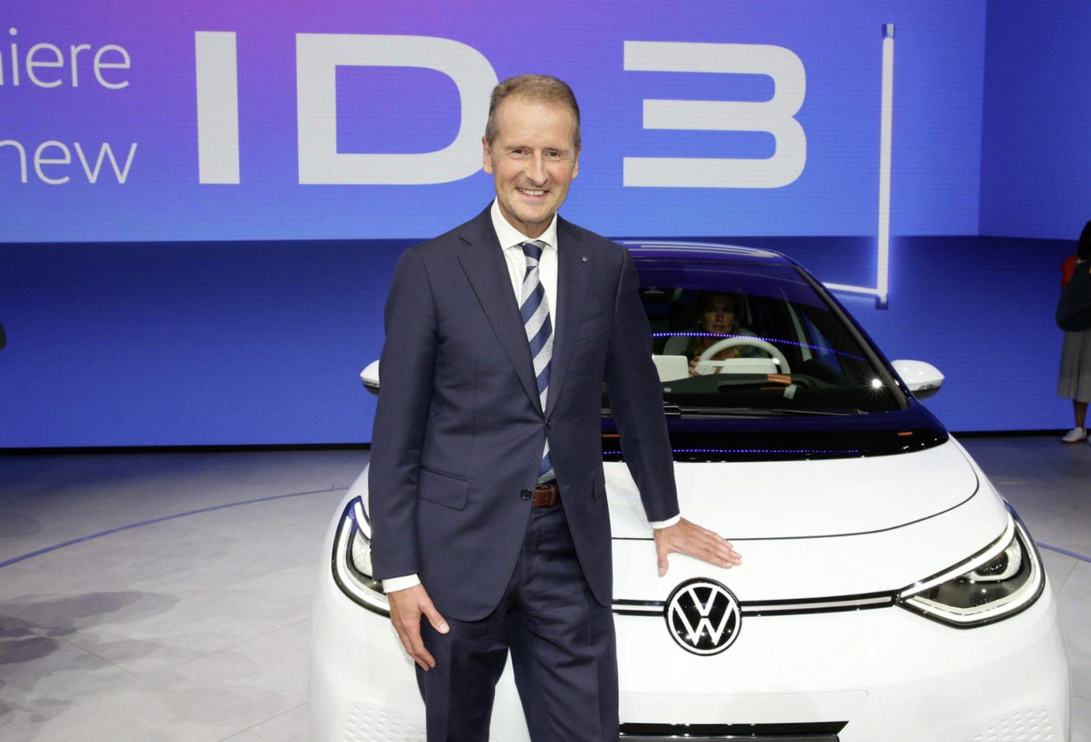 Herbert Diess PDG de Volkswagen