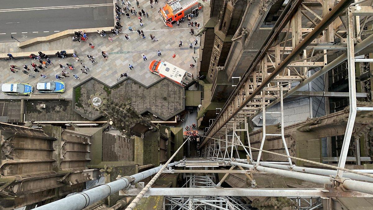 Urgence Dans La Cathédrale De Cologne: Les Pompiers Sauvent Des