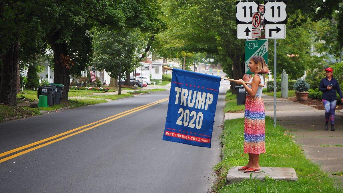 """""""c'est Le Pays Trump Maintenant"""": Où Les Emplois Sont Plus"""