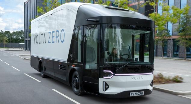 Volta Trucks Dévoile Son Premier Camion De Distribution électrique
