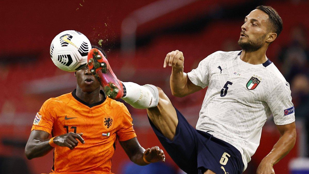 Squadra Azzurra Domine Elftal: Ligue Des Nations: L'italie Salue Par
