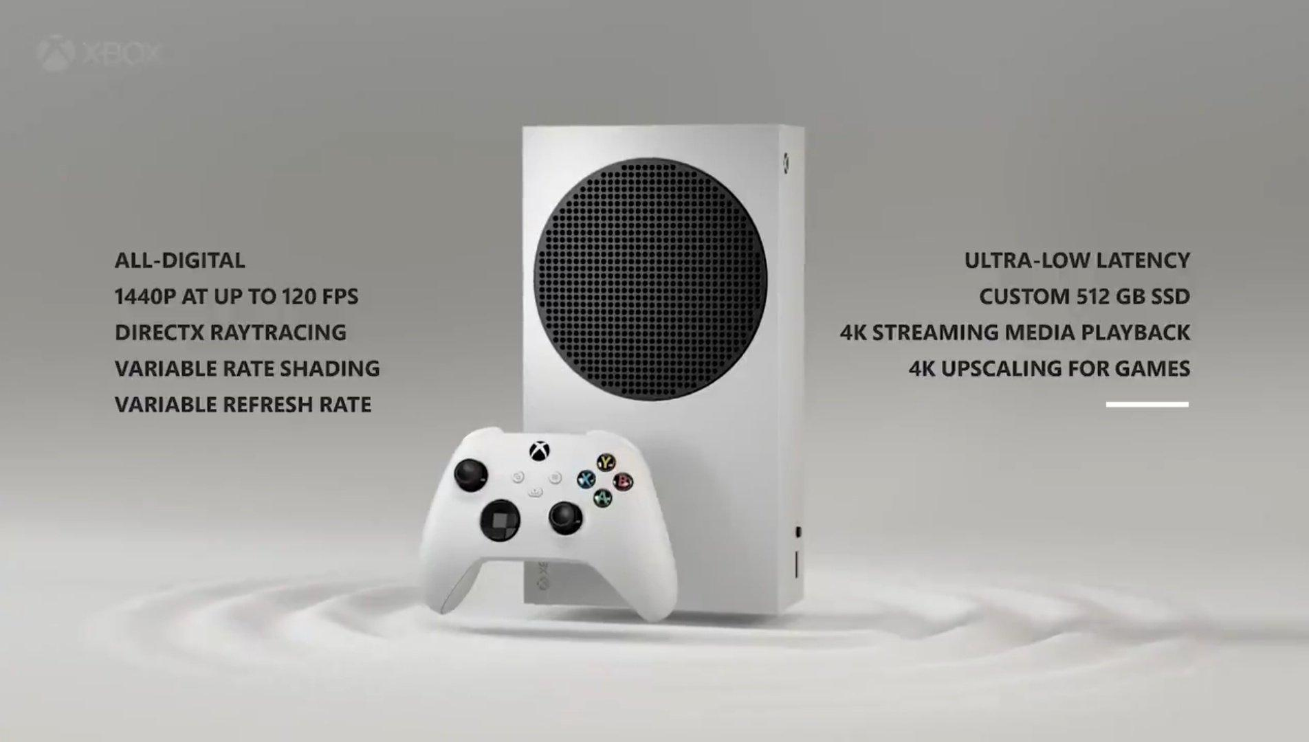 Caractéristiques De La Xbox Series S Révélées: Ray Tracing, 120