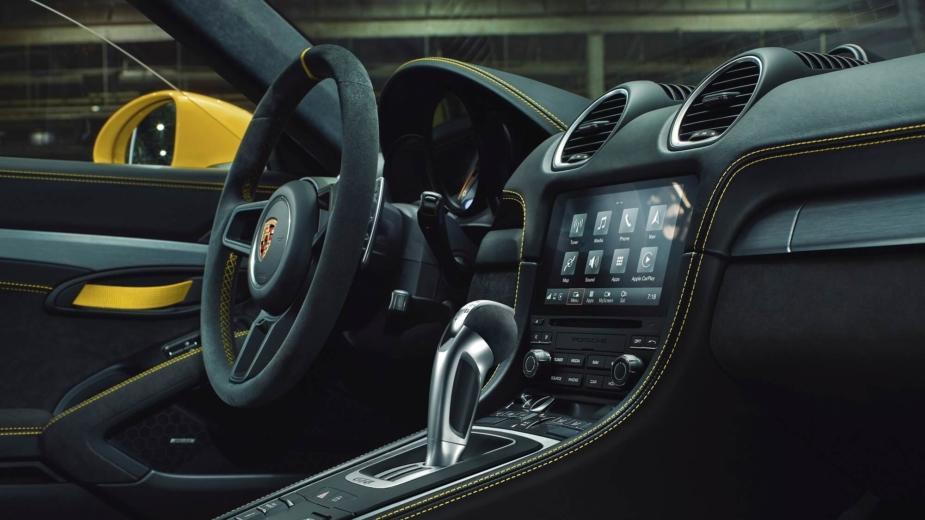 Pdk Atteint également Le Boxer 6 Cylindres Porsche 718