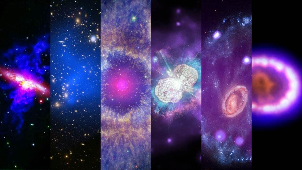 De Superbes Images De L'observatoire à Rayons X Chandra De
