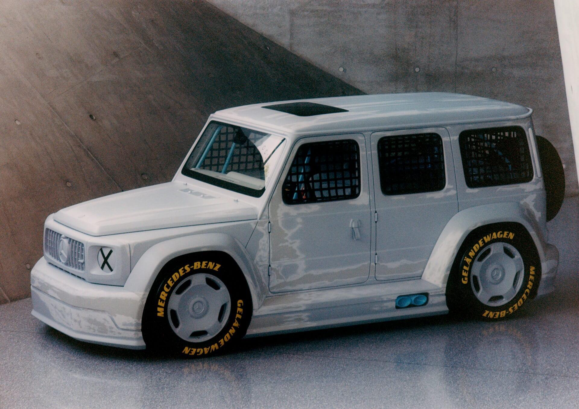 Projet Mercedes-Benz Classe G Geländewagen