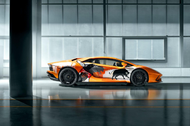 La Lamborghini Aventador S de Skyler Grey